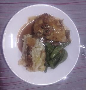 4 repas 1 poulet ecrevisses