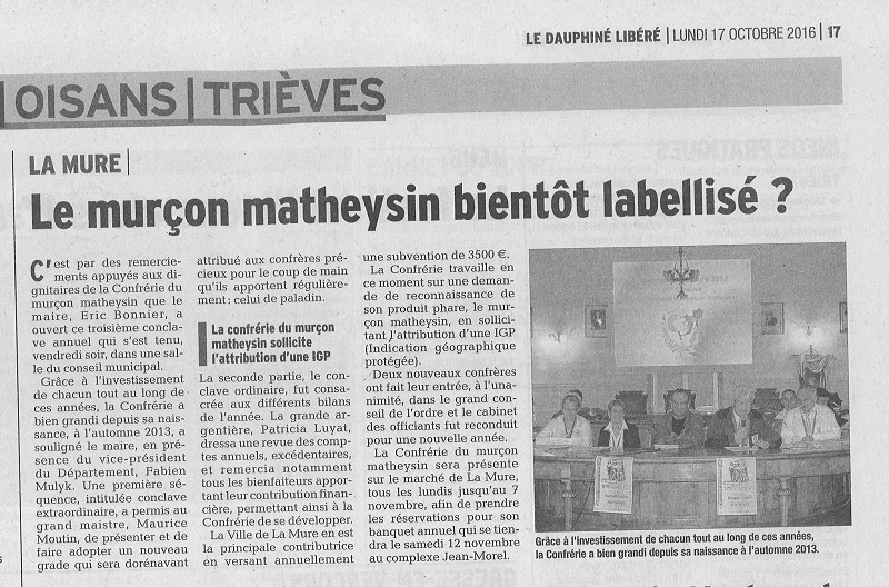 Article label du 17 oct 2016